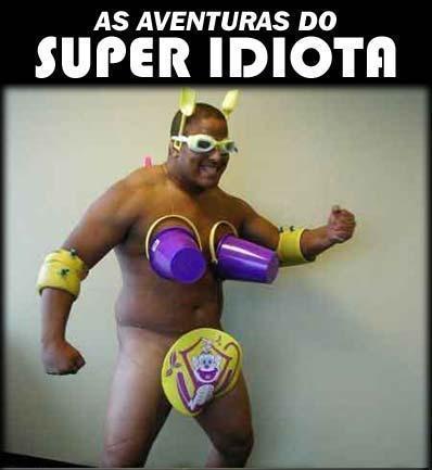 SPAM razorback y colmillos Super-idiota