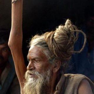 20052010: asceta Sahdu col braccio alzato
