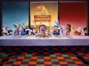 Last Supper Cartoon