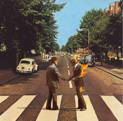 16112011: Abbey Road Wish you were here