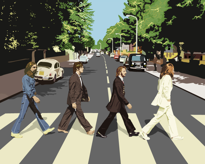 25072012: Abbey Road pittura