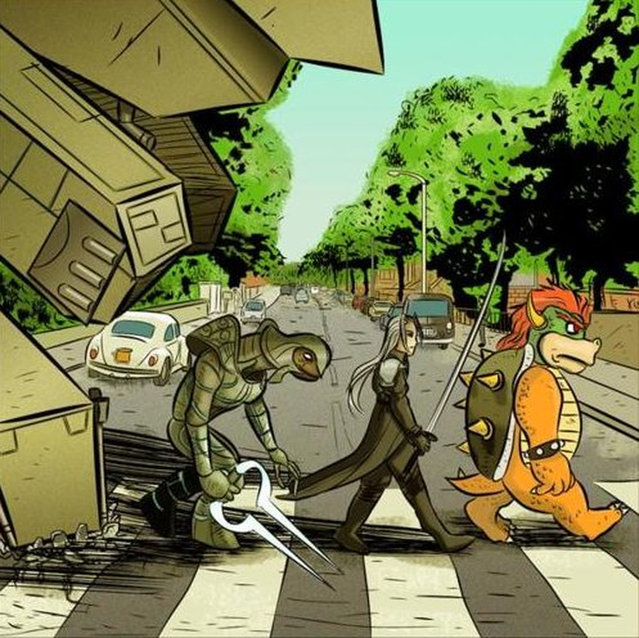 20022013: Abbey Road Super Mario