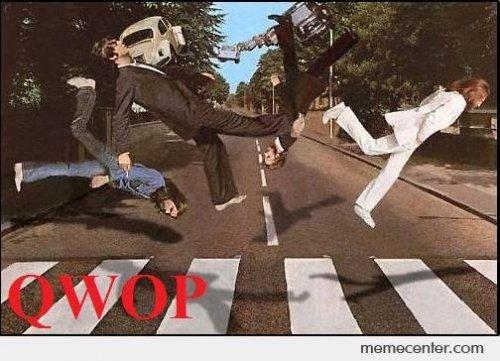 13032013: Abbey Road QWOP