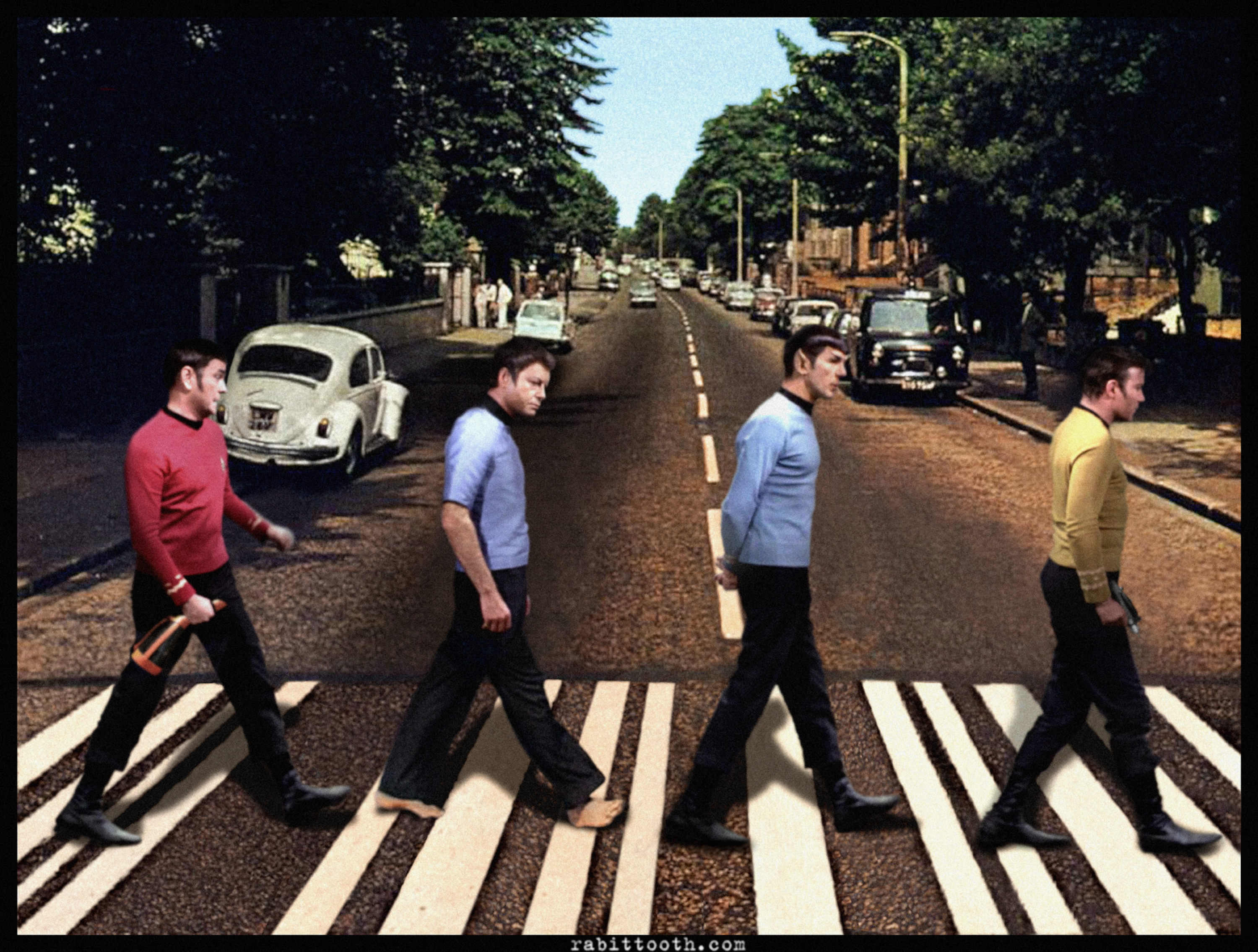 29052013: Abbey Road Star Trek
