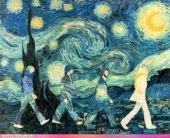 31072013: Abbey Road Van Gogh