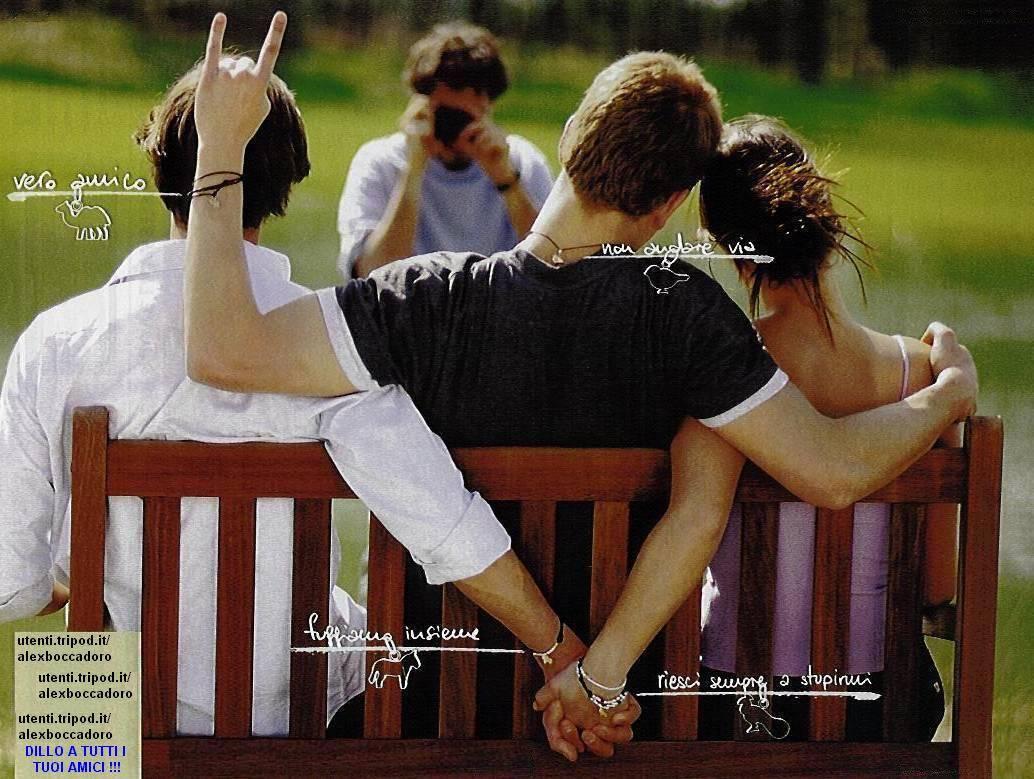 15102013: I veri amici condividono tutto
