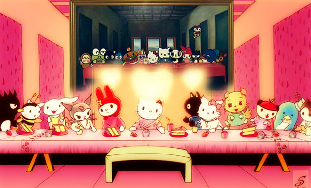27062014: Ultima cena Hello Kitty