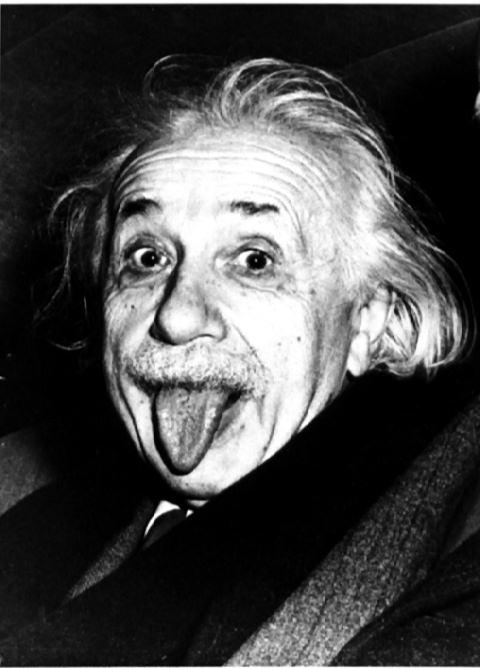 09102014: La linguaccia di Einstein