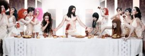 Horror Last Supper Vampires by MattaeusBall