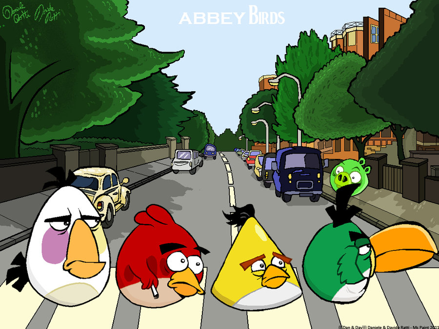 19112014: Abbey Road Angry Birds