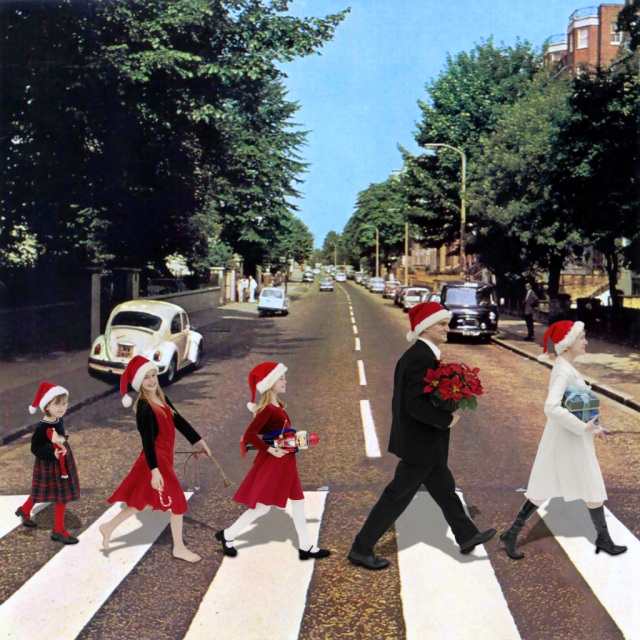 17122014: Abbey Road the Hall family