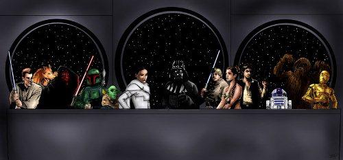 05122014: Ultima cena Star wars