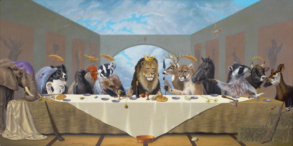 30012015: Ultima cena Animali