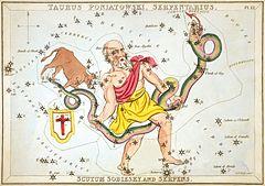 150331_Sidney_Hall_-_Urania's_Mirror_-_Taurus_Poniatowski,_Serpentarius,_Scutum_Sobiesky,_and_Serpens