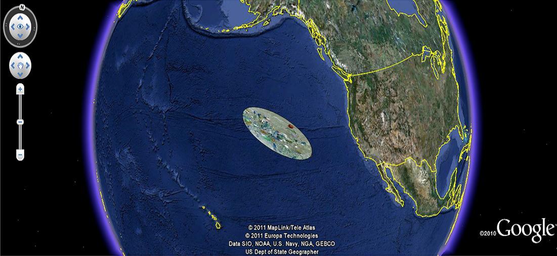 09042015: L'isola di plastica che invade il pacifico