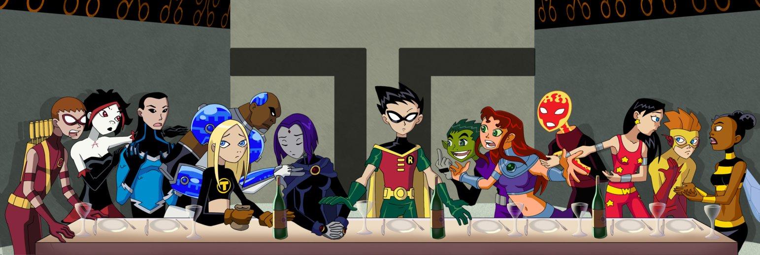 17042015: Ultima cena Teen Titans