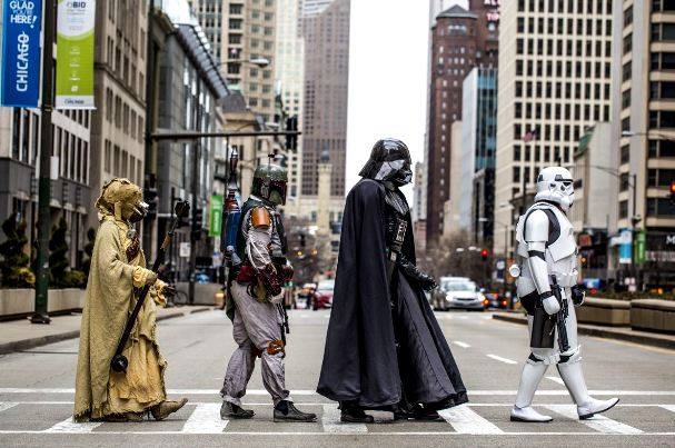 23092015: Abbey Road Star wars