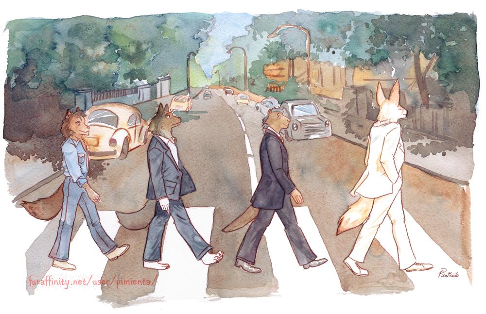 28102015: Abbey Road Furry fandom