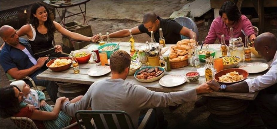 04122015: Last supper Fast And Furious