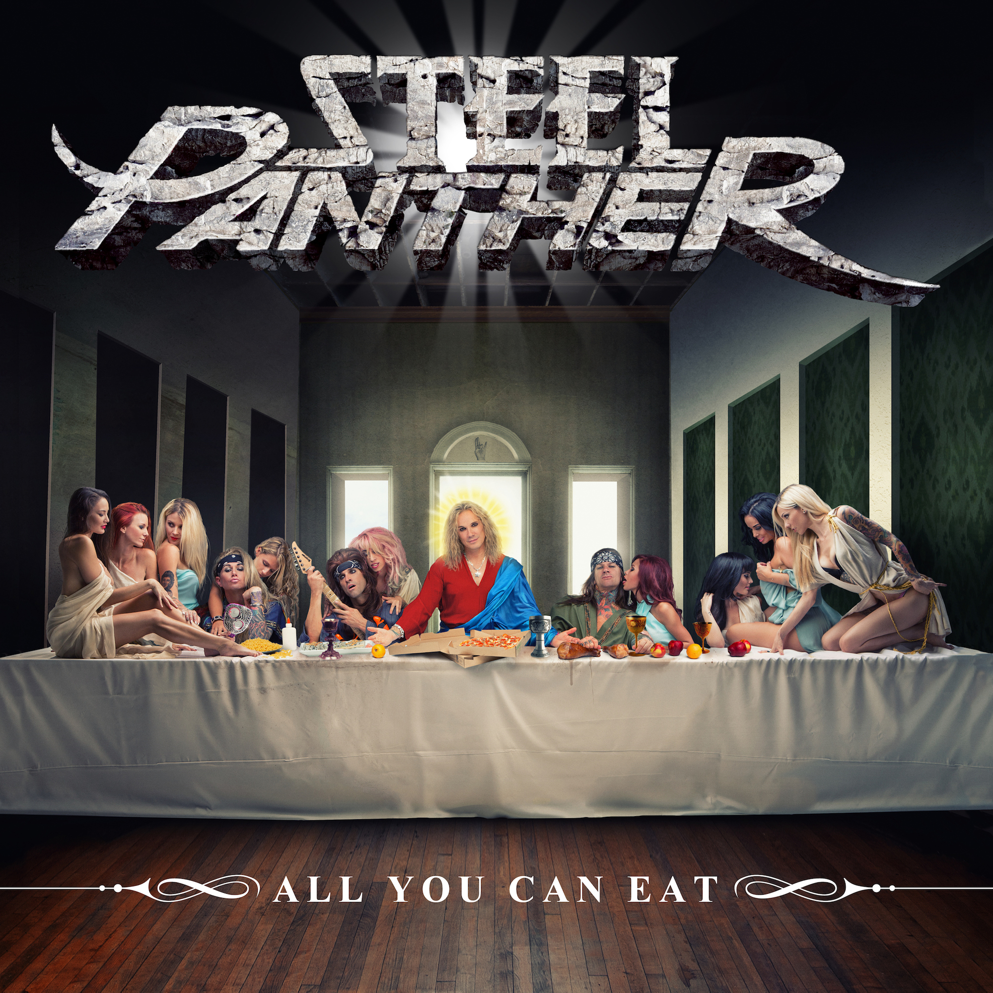 25032016: Ultima cena Steel Panther