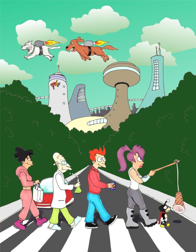 18052016: Abbey Road Futurama