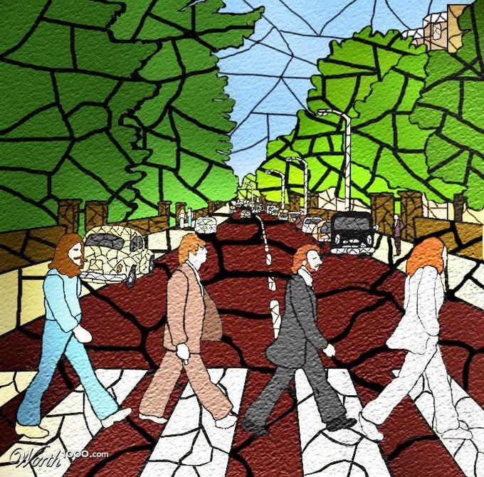 08062016: Abbey Road Vetrata