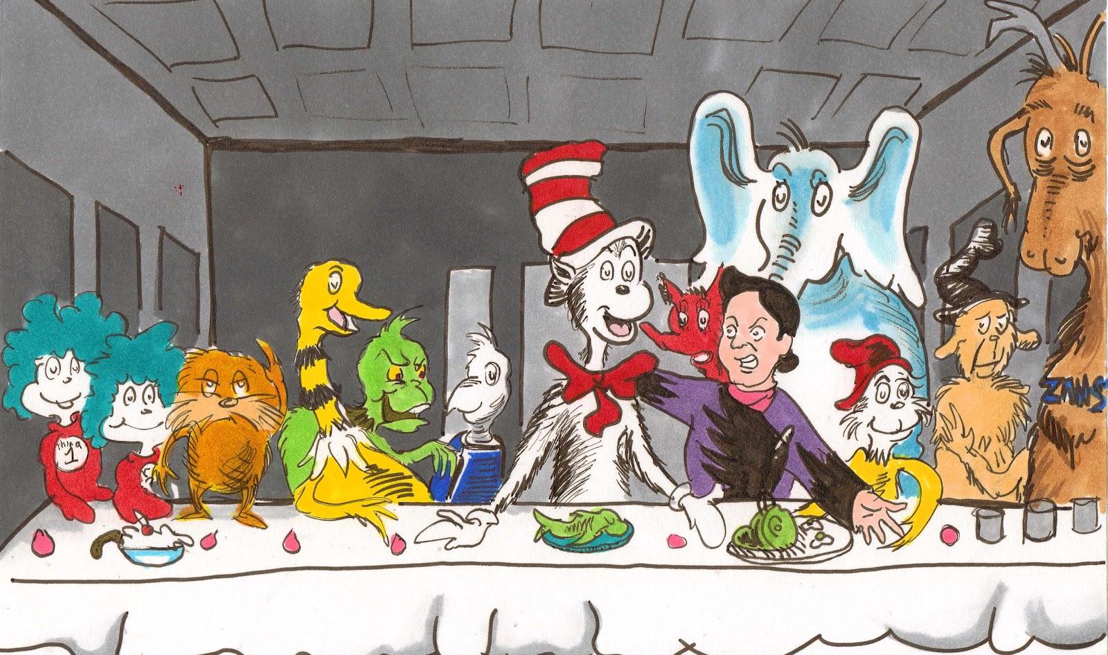10062016: Ultima cena Dr. Seuss
