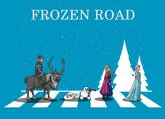 26102016: Abbey Road parody Frozen
