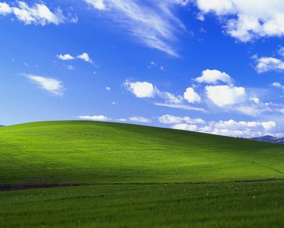 15122016: Lo sfondo di Windows XP