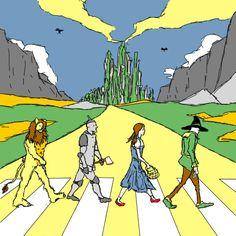 07122016: Abbey Road parody Oz