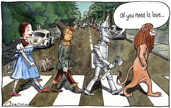 22022017: Abbey Road parody Oz