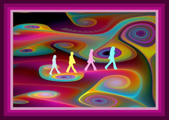 04102017: abbey road parody psychedelic